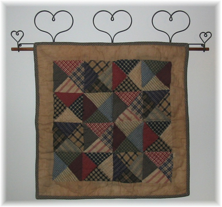 Mini Quilt Hangers and Quilt Displays