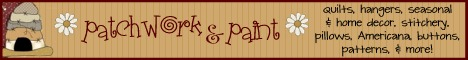 click here to visit Patchwork & Paint!